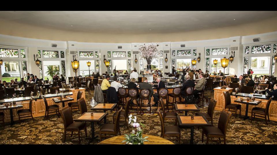 Hershey Hotel Circular Dining Room