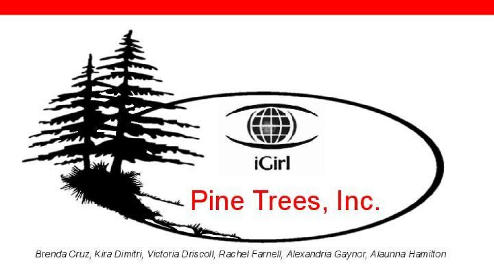 iGirl Case Presentation: Pine Trees, Inc    Portfolium
