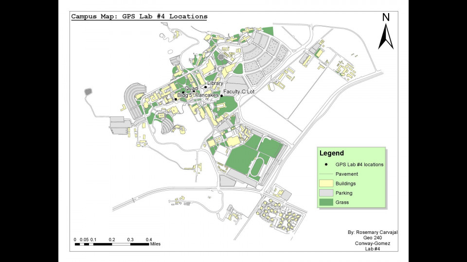 GPS Locations at Cal Poly Pomona | Portfolium on