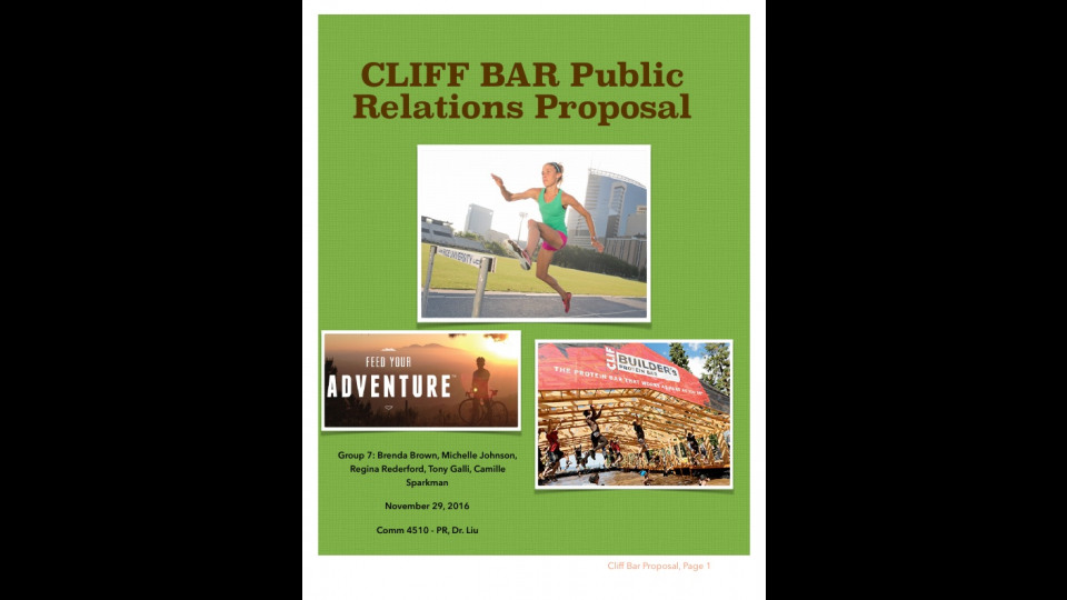 clif bar advertising