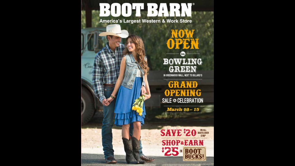a102fa34a6c Boot Barn: Catalogue Mailer | Portfolium