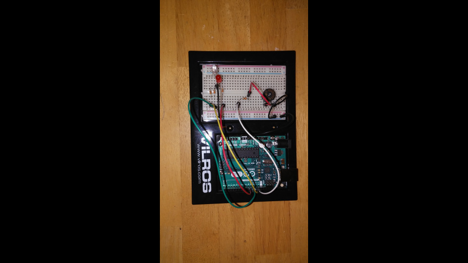 Arduino Project (+): Piezo Buzzer & LED Synch | Portfolium