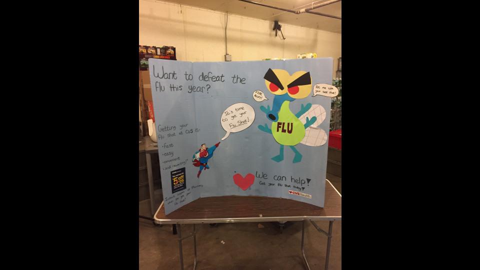 Cvs Flu Vaccine Poster Portfolium