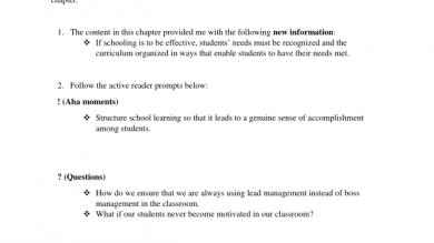 Classroommanagement | Portfolium