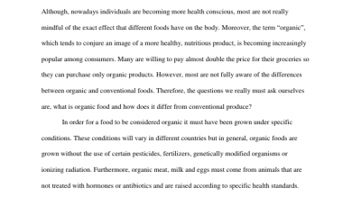 the university of alabama network portfolium organic foods informative essay