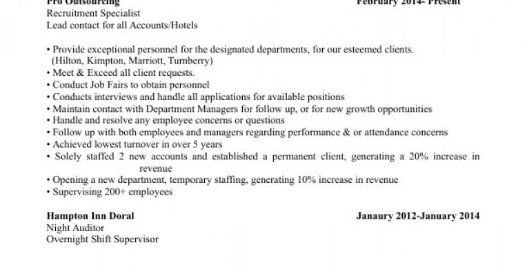 updated resume 2017