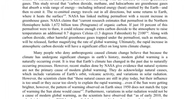 current climate changes essay Current visual evidence of global warming arctic climate change essay changes in the arctic climate will not only affect the essay about climate change.