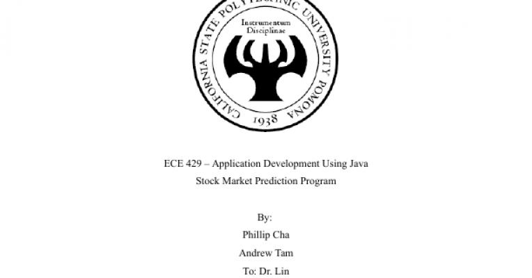 Stock Market Prediction Application - Powered by Portfolium