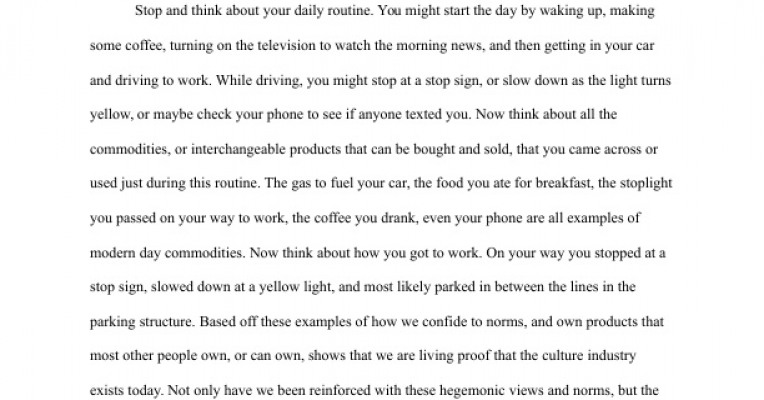 food and also usa civilization essays