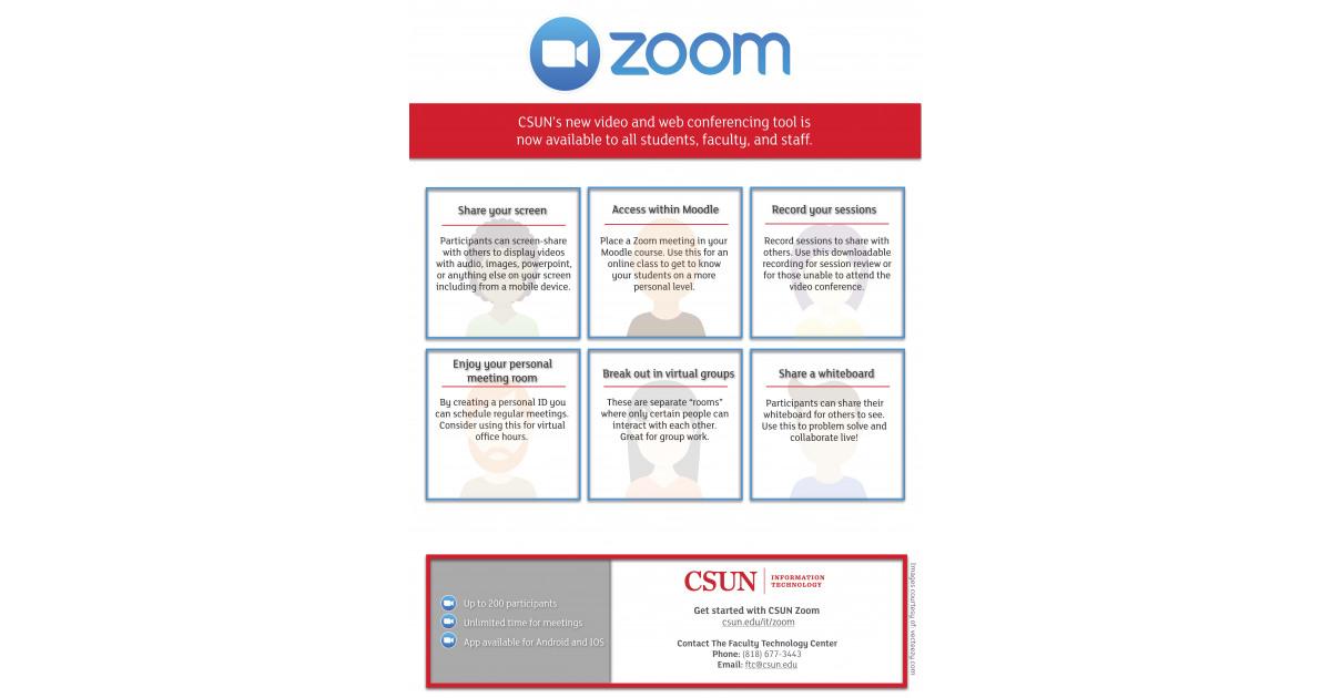 Zoom Flyer | Portfolium