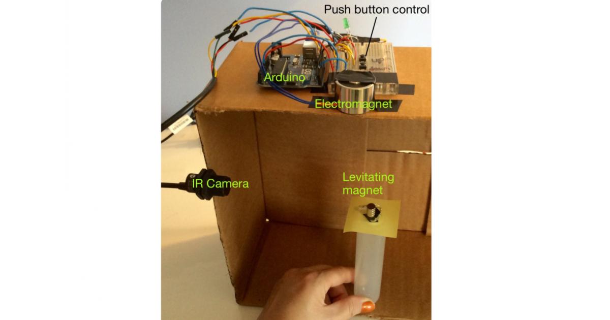 Arduino Magnetic Levitation [Click for more pics] | Portfolium
