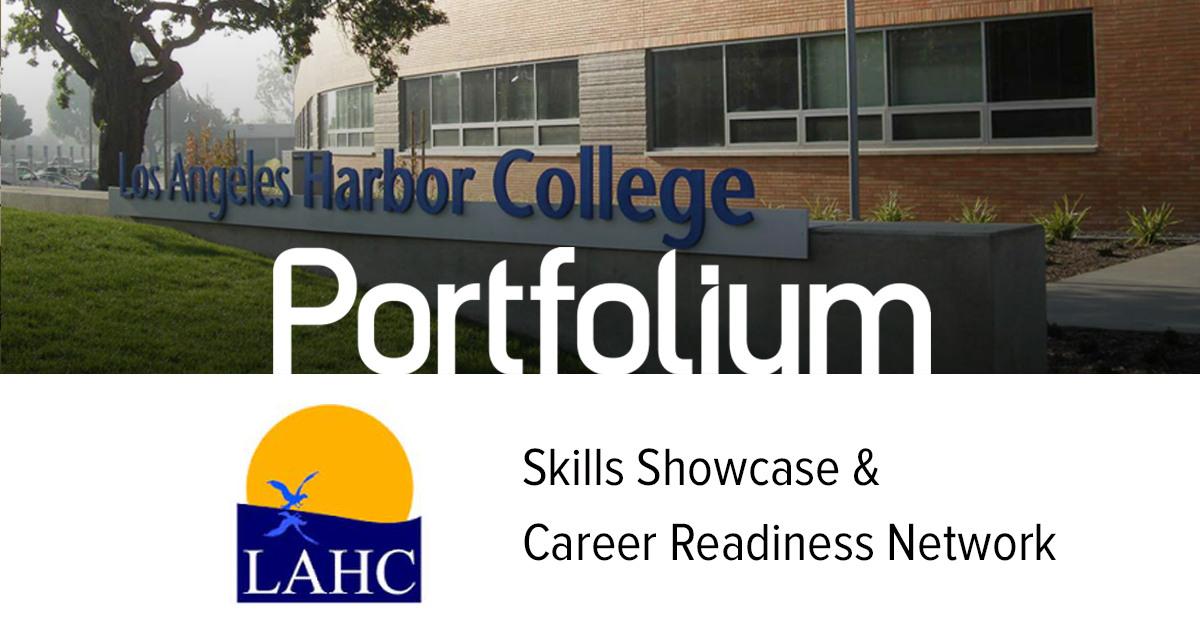 Los Angeles Harbor College Network Portfolium
