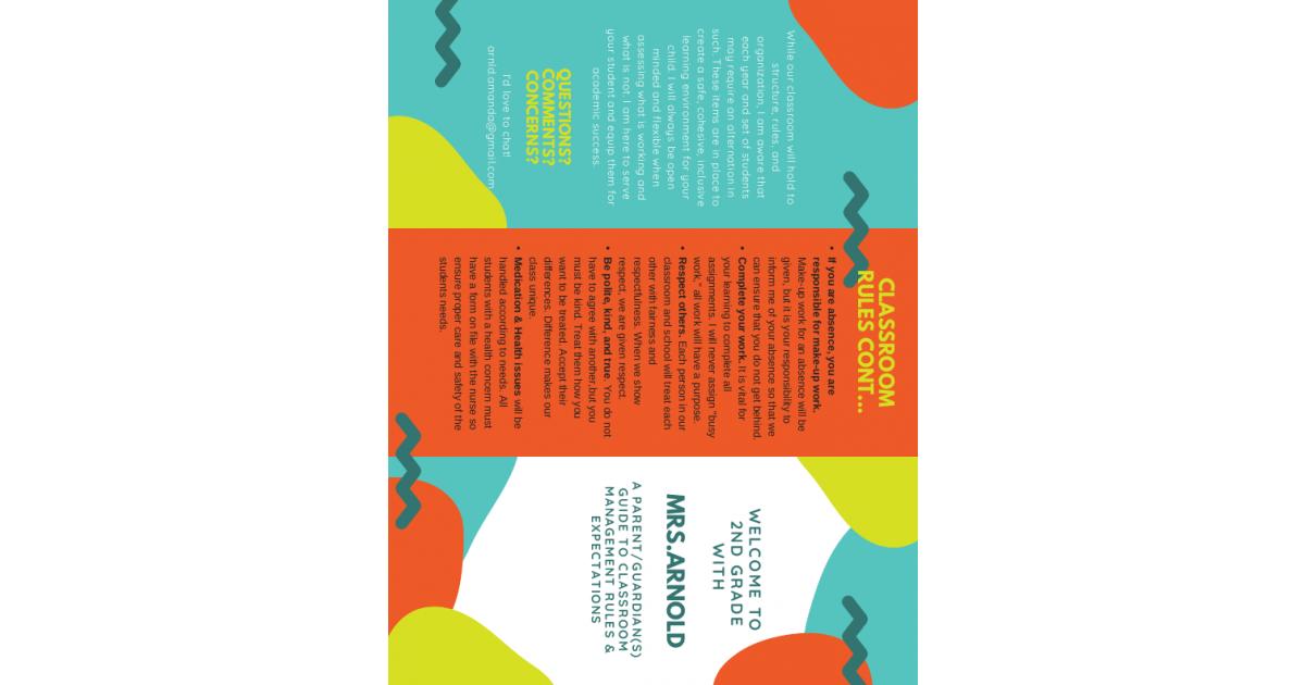 ITL606 Classroom Management Brochure | Portfolium